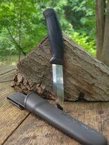 Mora Companion Fixed Blade in Anthracite