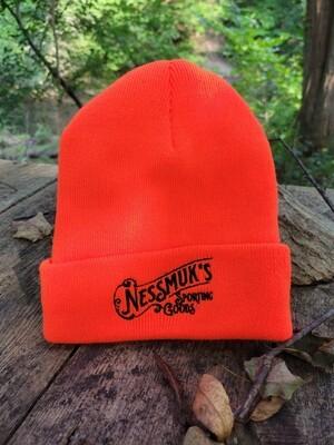 Hunter Orange Nessmuk's Watch Cap