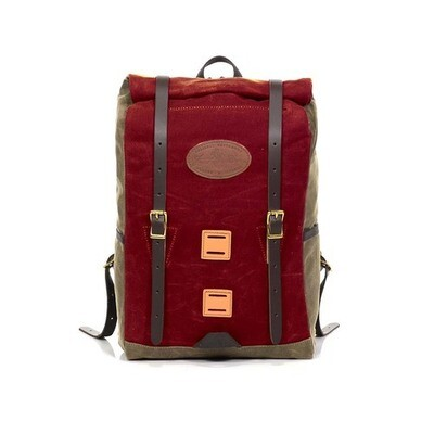 Limited Edition ~ Frost River Arrowhead Trail Rolltop Daypack in Old Glory Red
