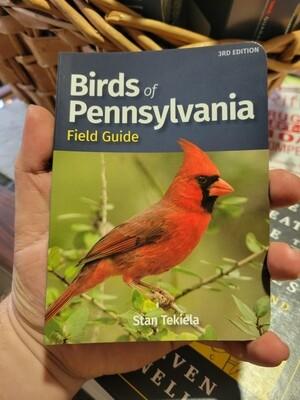 Birds of Pennsylvania Field Guide by Stan Tekiela