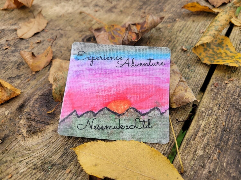 "Evie's ""Explore  Adventure"" Sticker"