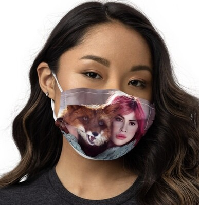 All-Over Print Premium Face Mask, Fox