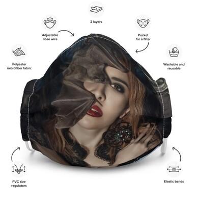 All-Over Print Premium Face Mask, BAT