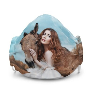 All-Over Print Premium Face Mask, Horse