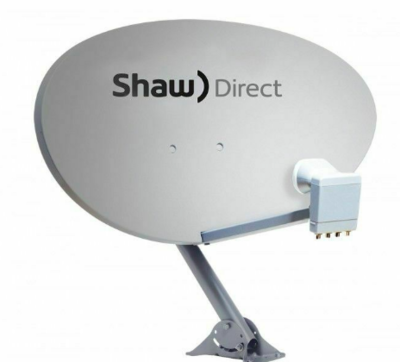 Shaw Direct 75e Elliptical Dish with XKU LNB