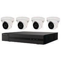 4 Channel NVR w 4 Turret Cameras