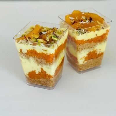 Gajjar Halwa Rabri Cups-Desert Bar