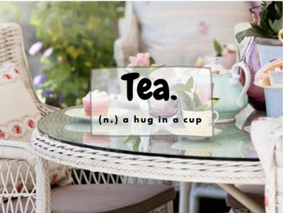 Custom Tea Menu