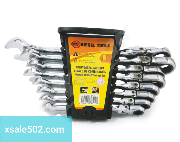 Juego de Llaves 8 piezas Diesel Tools