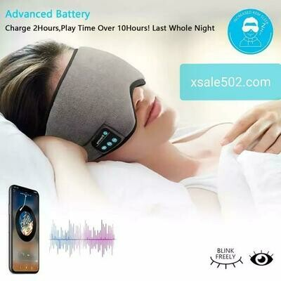 Bluetooth Máscara de ojos para dormir Auriculares Viaje