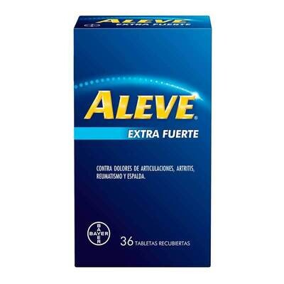 ALEVE EXTRA FUERTE CX 36 TAB