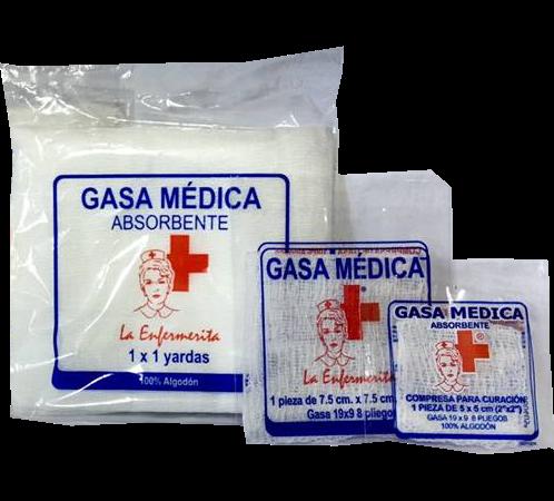 GASA MEDICA LA ENFERMERITA 1 X 1 YD