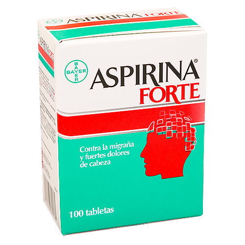 ASPIRINA FORTE CX 100 TAB