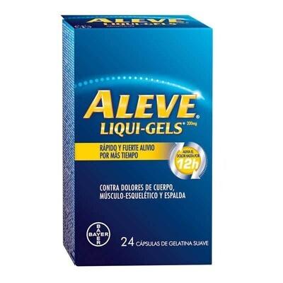 ALEVE TA. LIQUI-GELS X tableta unidad