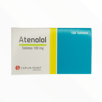 ATENALOL 100GM CX 10 TAB