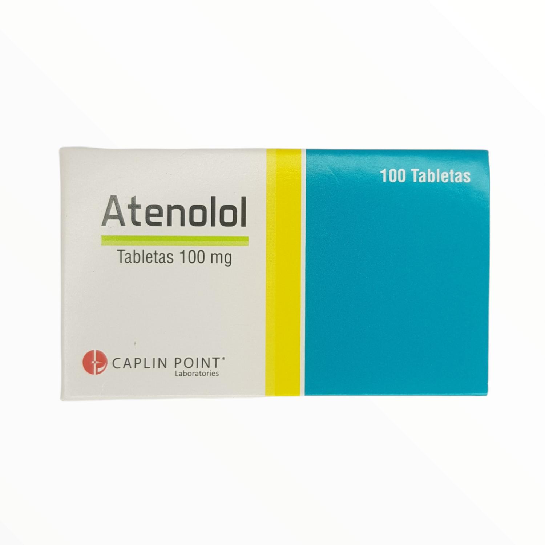 ATENALOL 100GM CX 1 TAB