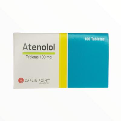 ATENALOL 100GM CX 100 TAB