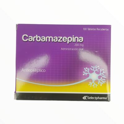 CARBAMAZEPINA 200GM CX 100 TAB
