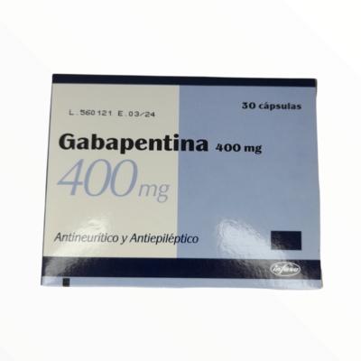 GABAPETINA GF 400 MG X 30 CAPSULAS