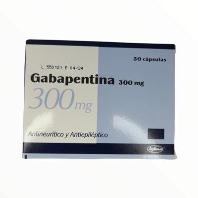 GABAPENTINA 300GM BLISTER 10 UNIDADES