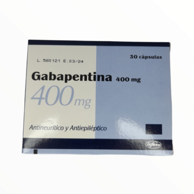 GABAPETINA GF 400 MG X 1 CAPSULAS