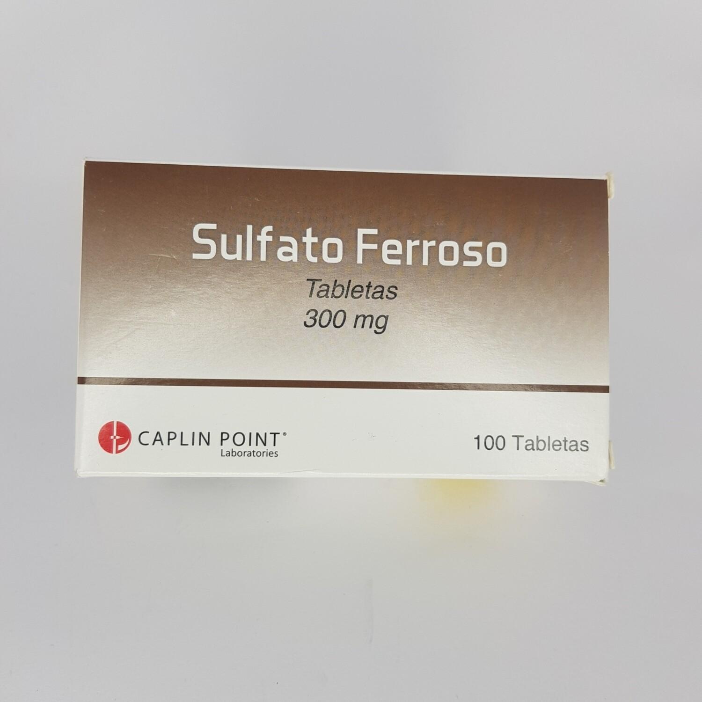 SULFATO FERROSO 300MG CX 100 TAB