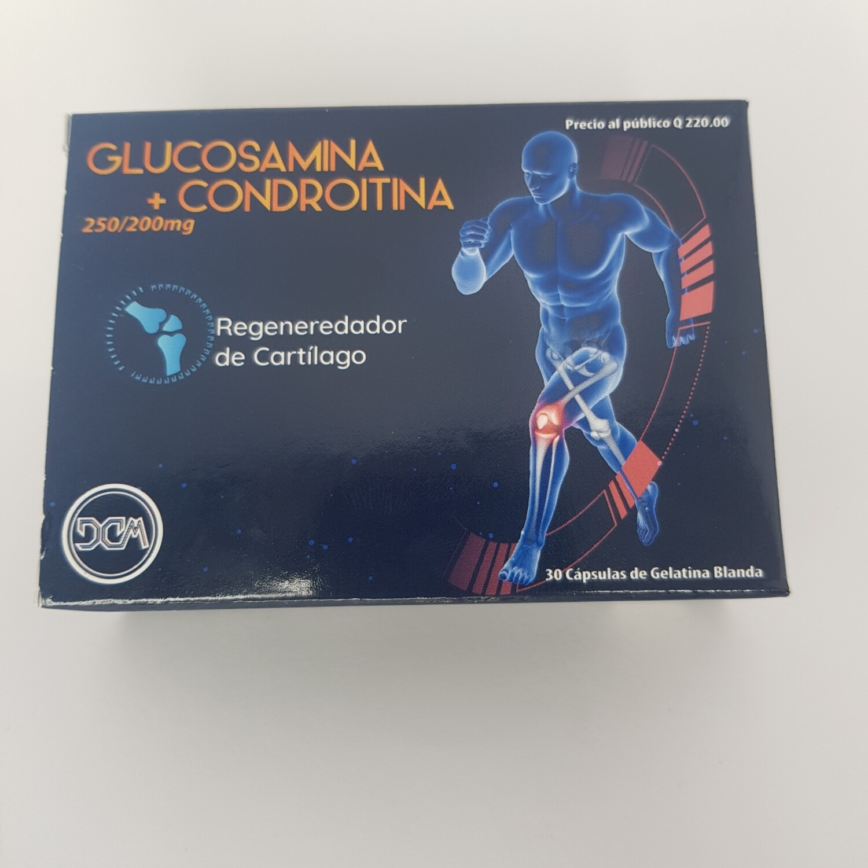 GLUCOSAMINA + CONDROITINA CX 30 CAPS