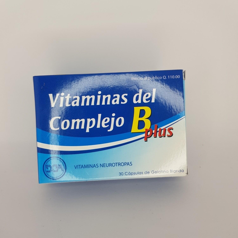 COMPLEJO B PLUS CX 10 GEL CAPS