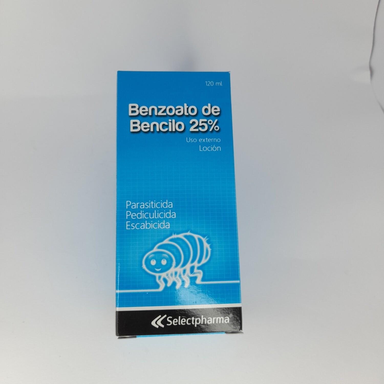BENZOATO DE BENCILO FRASCO 120ML