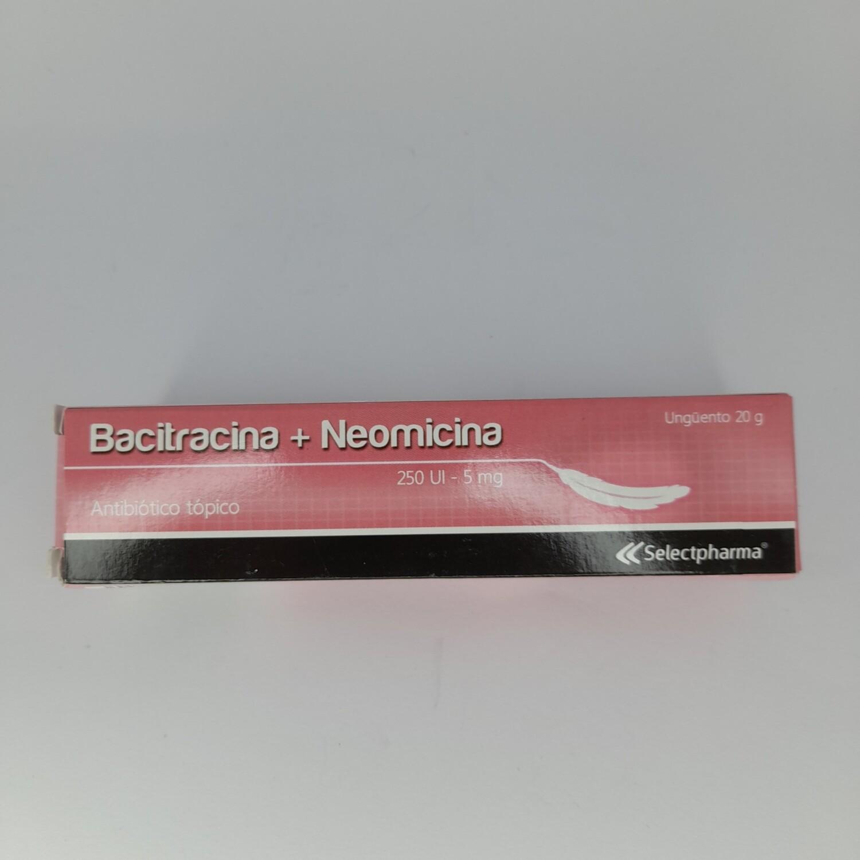 BACITRACINA + NEOMICINA TUBO CREMA 120ML