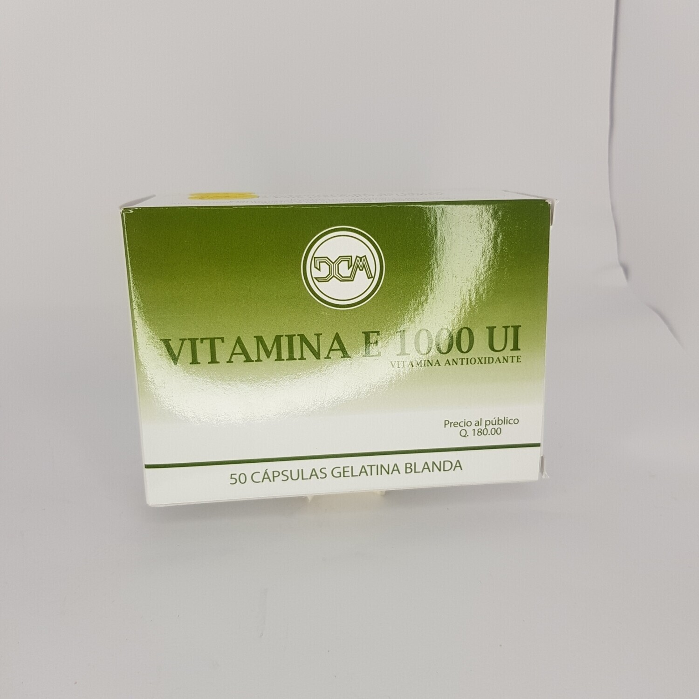 VITAMINA E 1000 UI  GEO 5 CAPS