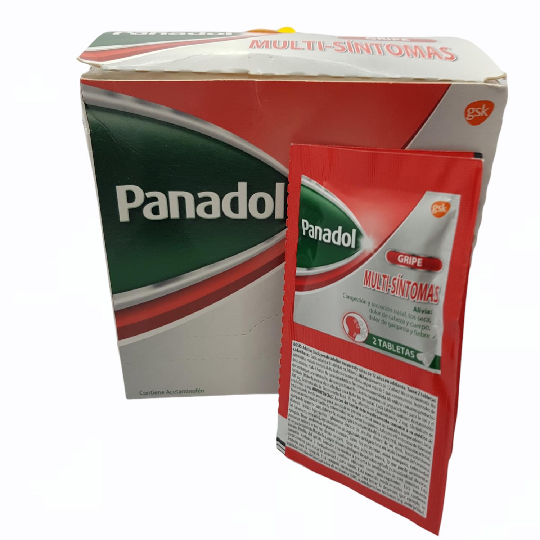 PANADOL MULTISINTOMAS CX 52 TAB
