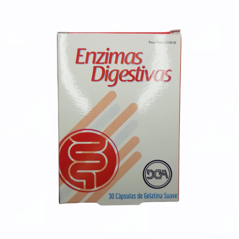 ENZIMAS DIGESTIVAS PAPAYA CAJA X 30