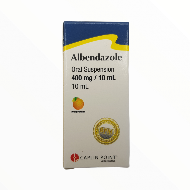ALBENDAZOL 200MG/5ML SUSPENSION