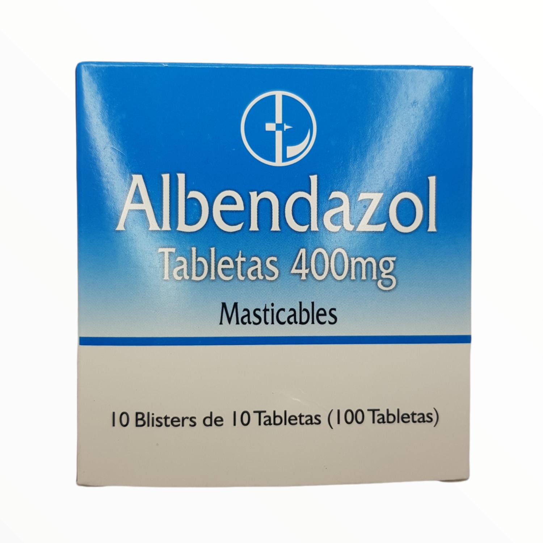 ALBENDAZOL 400MG BX 10 TAB
