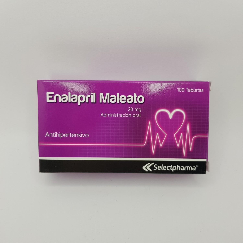 ENALAPRIL MALEATO 20MG
