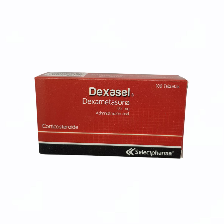 DEXASEL (Dexametasona) 0.5MG 1 TAB UNIDAD