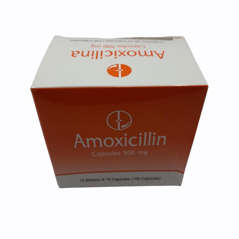AMOXICILINA 500MG CX 100 CAPS