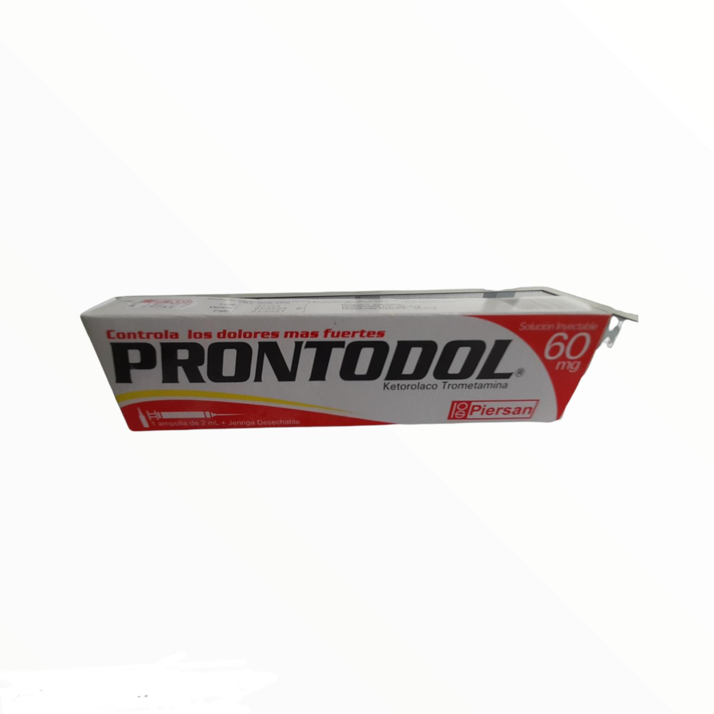 PRONTODOL 60MG KIT KETOROLACO TROMETAMINA