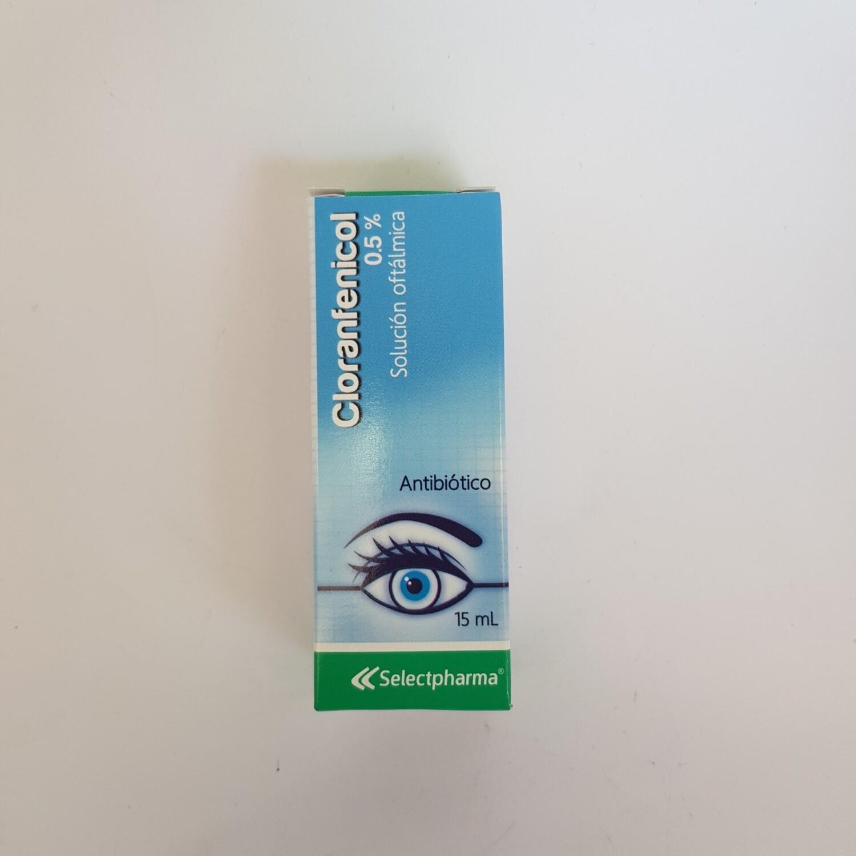 CLORANFENICOL 0,5% SOL. OFTAL 15ML GOTAS