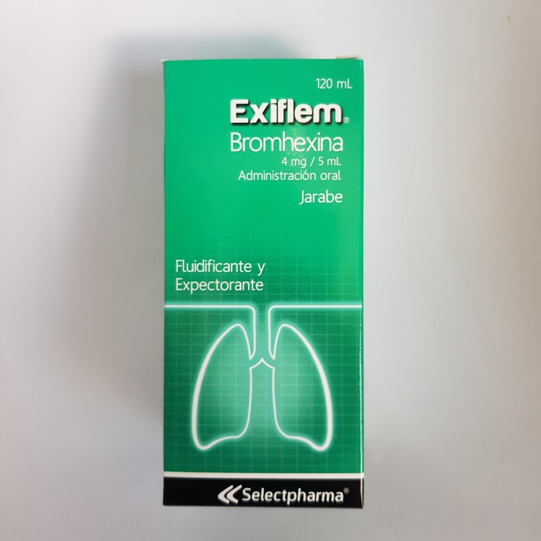 EXIFLEM ( Bromhexine) 4MG/5ML JARABE 120ML