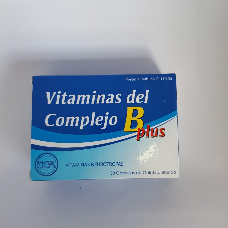 Vitaminas del complejo B plus