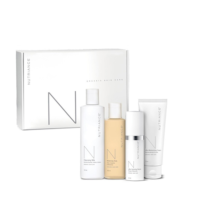 Nutriance Organic Skincare 3-Step System Normal Dry