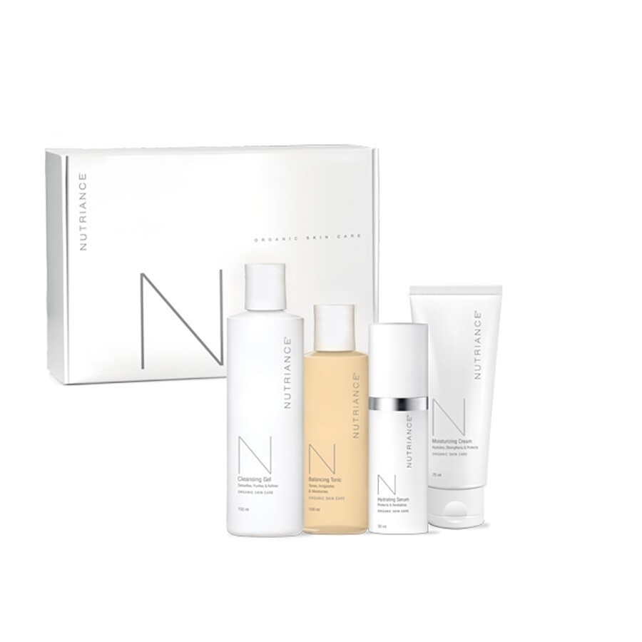 Nutriance Organic Skincare 3-Step System Combination/Oily
