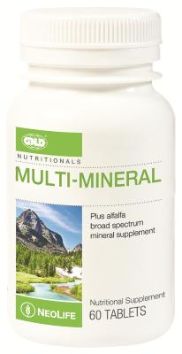 GNLD Neolife Multi-Mineral + Alfalfa (60 Tablets)