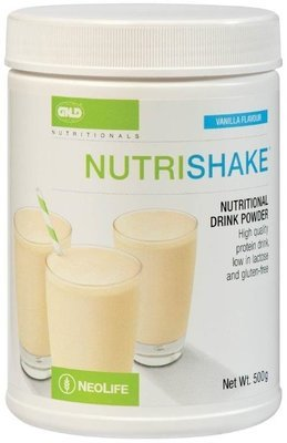 GNLD Nutrishake Vanilla (500g) [Provides protein plus essential vitamins and nutrients]
