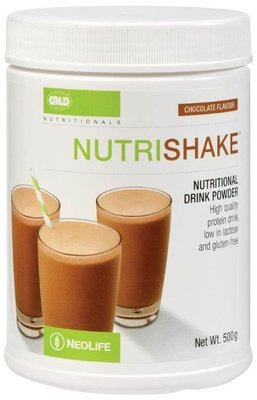 GNLD Nutrishake Chocolate (500g) [Provides protein plus essential vitamins and nutrients]