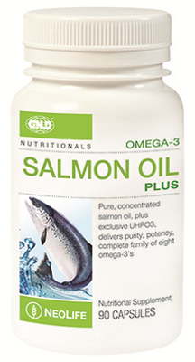GNLD Neolife Omega-3 Salmon Oil Plus (90 Capsules)