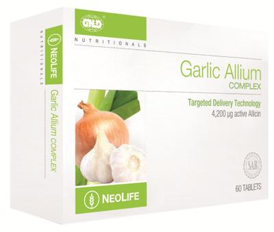 GNLD Neolife Garlic Allium Complex (60 Tablets)