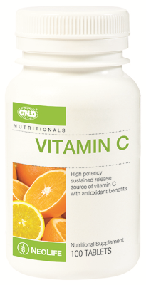 GNLD Neolife Vitamin C (100 Tablets) - (Limited to 6 bottles per customer)